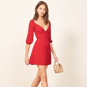 Reformation eveleigh dress current collection s
